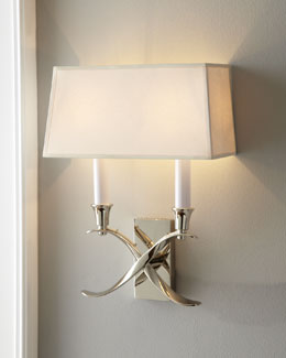 Small Cross Bouillotte Sconce