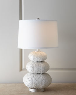 "Regina-Andrew Design ""Stacked Sea Urchin"" Lamp"