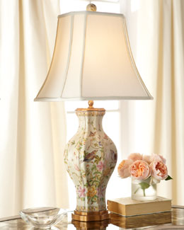 """Birds in Bliss"" Table Lamp"