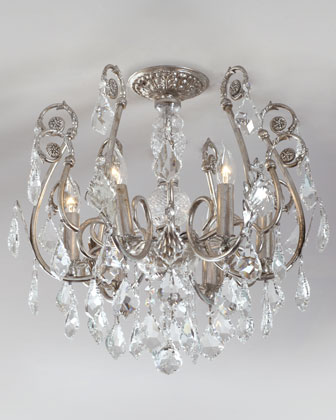 Mini Chandelier Flushmount Light Fixture