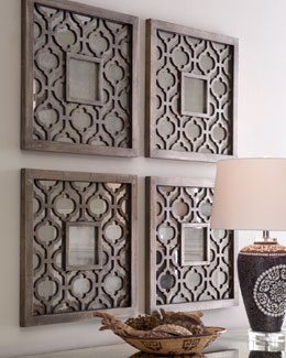 "Two ""Sorbolo"" Wall Decor"