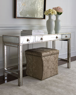 "John-Richard Collection ""Marissa"" Mirrored Console"