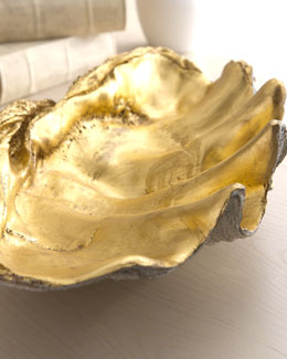 Regina-Andrew Design Golden Shell Bowl