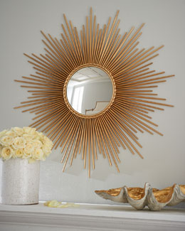"Global Views ""Thin Sunray"" Mirror"