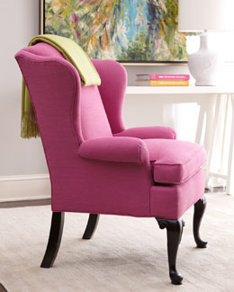 "Key City Furniture ""Sally"" Wing Chair"