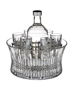"Waterford ""Lismore Diamond"" Vodka Set"