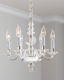 "VISUAL COMFORT Mini ""George II"" Chandelier"