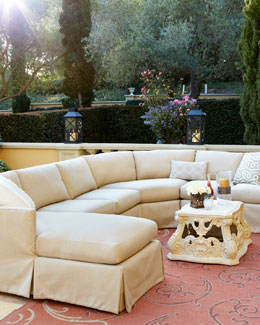 Outdoor Upholstered Sectional