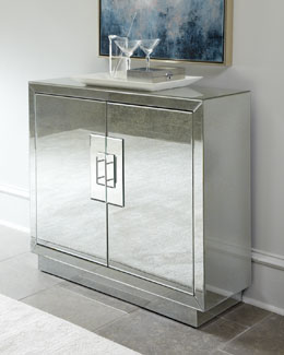 """Lily"" Mirrored Chest"