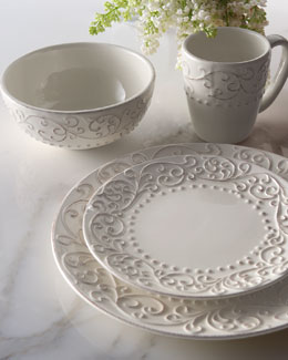 "16-Piece ""Scroll"" Dinnerware Service"