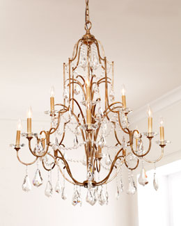 """Valentina"" 12-Light Chandelier"