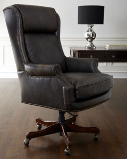 Mason Leather Desk Chair