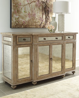 """Dalton"" Mirrored Console"