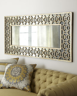 Champagne Overlay Mirror