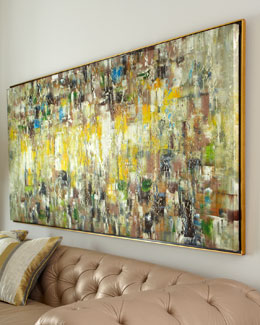 "John-Richard Collection ""Slickers"" Abstract Painting"