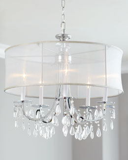 """Hampton"" Shaded Chandelier"