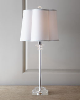 "Regina-Andrew Design ""Scallop Shade"" Buffet Lamp"