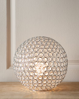 """Bosley"" Crystal Ball Lamp"