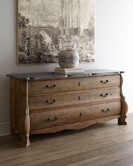 """Concetta"" Three-Drawer Chest"
