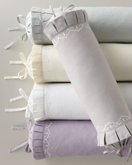 "SFERRA Aimee Neckroll Pillow, 6"" x 20"""