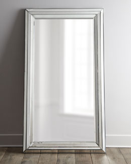 """Rosinna"" Antiqued Mirror"