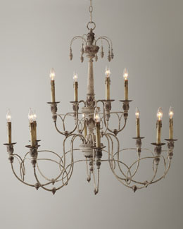 Salento 12-Light Two-Tier Chandelier