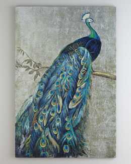 """Proud Peacock"" Painting"