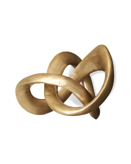 """Trefoil Knot"" Sculpture"
