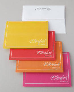 "16 ""Flashy"" Folded Notes & Envelopes"