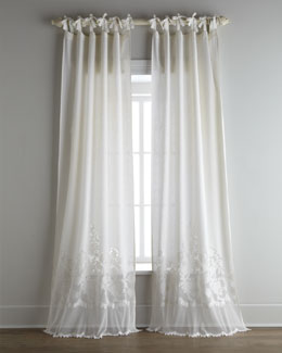Each Tie-Top Caprice Curtain