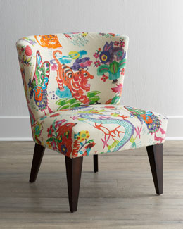 "Massoud ""Chinoiserie Dynasty"" Chair"