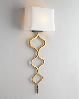 Regina-Andrew Design Sinuous Metal Sconce