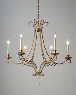 "VISUAL COMFORT ""Oslo"" Chandelier"