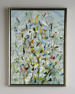 "John-Richard Collection ""The Confetti Garden"" Jinlu Oil Painting"