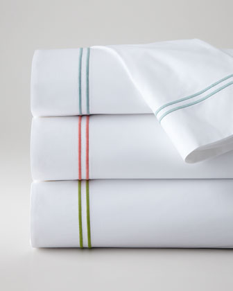Full/Queen Satin-Stitched Flat Sheet