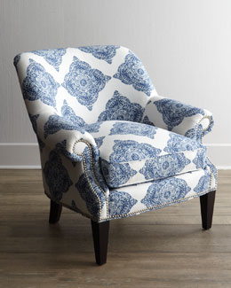 """Blue Roxi"" Chair"