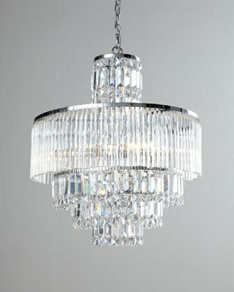 Rossborough Eight-Light Crystal Chandelier