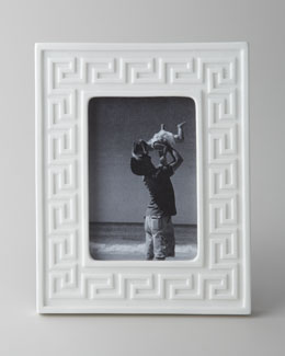 "Jonathan Adler Greek Key 4"" x 6"" Frame"