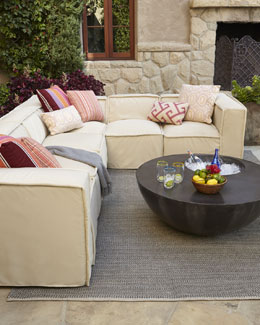"""Kendall"" Outdoor Sectional"