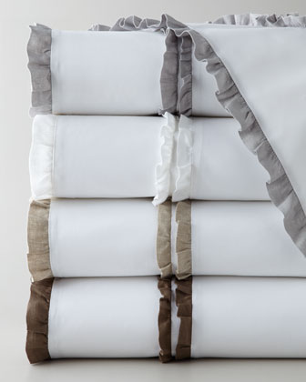 Twin Petite Ruffle Sheet Set