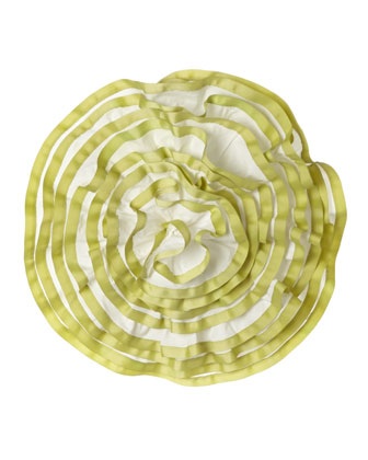 Round Ruffle Pillow, 14