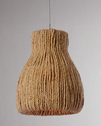 Rope Pendant Light