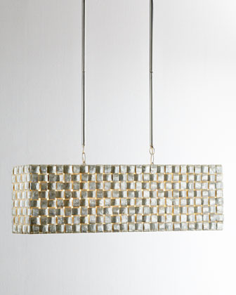 Capiz Buffet Pendant Light