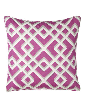Pergola Pillow w/ Piping, 20