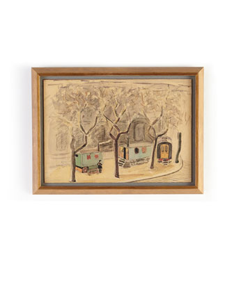 Dutch Landscape--City Scene Giclee