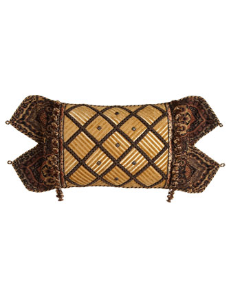 Lattice Boudoir Pillow, 13