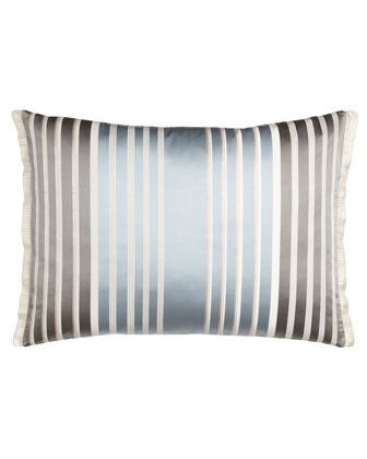 Striped Linen Pillow, 24