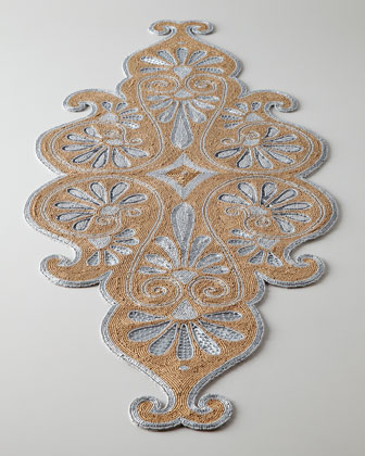 Prachi Beaded Table Runner