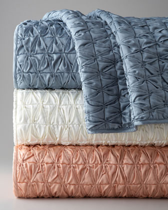 King Shirred Coverlet, 110