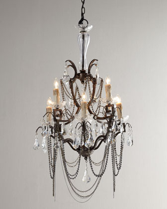 Iron Butterfly Chandelier